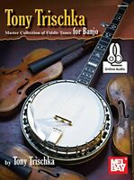 Tony Trischka Master Collection Of Fiddle Tunes For Banjo by Tony Trischka Book