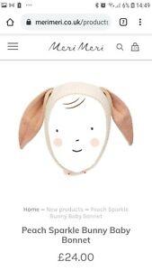 Meri Meri Bunny Hat Bonnet 0-6 months