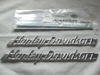Harley Davidson Tank Embleme Tankschilder mit Adapter Tankembleme Kit 61774-51T