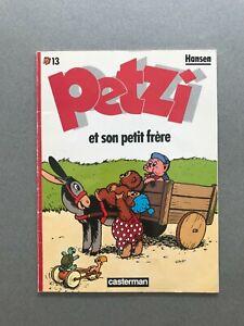 PETZI n°13 Petzi et Son Petit Frère HANSEN 1988 Casterman