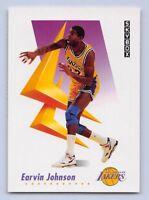 "1991-92  EARVIN ""MAGIC"" JOHNSON SKYBOX Basketball Card #137 - LOS ANGELES LAKERS"