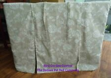 """Large 36"""" Dog Crate Cage Cover Quality Cotton @TheDoZeeePetBedCo Floral Prints"""