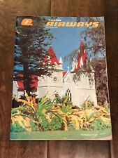 Vintage Qantas Airways Inflight Magazine May / June 1978 The Kingdom of Tonga
