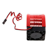 42mm Universal Motor Heat Sink with 40mm Cooling Fan RC Vehicle Accessories