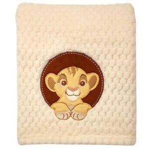 Disney's The Lion King Popcorn Coral Ultra Soft Plush Fleece Baby Simba Blanket