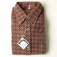 Authentique vintage chemise homme de marque VELCOREX -  Taille 6 - France -