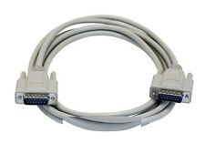 10ft DB15 Male/Male M/M 15-Conductors Extension Cable Cord