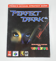 Perfect Dark Prima's Official Strategy Guide Nintendo 64 Book