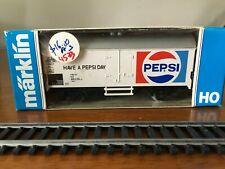 Marklin HO #4533 r/w/b colored Box-Car Pepsi in it's Original Box West Germany