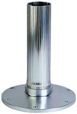 """New 2-7/8"""" Fixed Height Pedestal - Ribbed Series garelick 75531:01 Height 9"""" Ano"""
