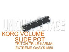 KORG TRITON EXTREME-TR-LE-KARMA-X50-M50-OASYS VOLUME SLIDE POT 3-PCS