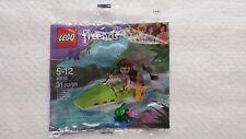 30115 Lego Friends Olivia's Jungle Boat mini doll minifigure polybag set