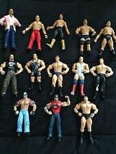 WWE Wrestling Figure Lot Of 13 Lesnar TripleH Undertaker Guerrero RVD stoneCold