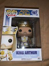 Funko Pop! King Arthur #197 Monty Python & The Holy Grail Vaulted Rare