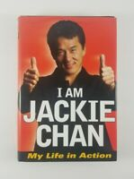 I Am Jackie Chan My Life In Action (Jackie Chan) 1998 Hardcover Book 1st Edition