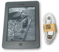 Amazon Kindle Touch (4th Generation) 4GB, 3G, 6in, Silver, eReader ~~Excellent~~