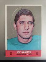 1968 Topps Stand-Up Set Break # Joe Namath EX