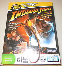 Indiana Jones DVD Adventure Board Game Cpmplete