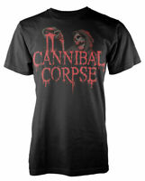 Official Cannibal Corpse T Shirt Acid Blood Mens Black Rock Death Metal Tee New