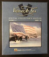 VICTORY AT SEA ~ SPECIAL COLLECTOR'S EDITION ~ 6 VHS TAPES ~ BOXED SET ~ EMBASSY