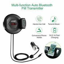 Bluetooth FM Transmitter Car Radio FM Modulator Adapter Kit Wireless MP3 USB WF