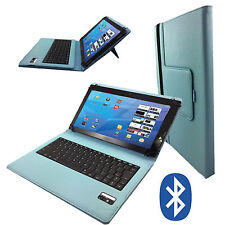 Bluetooth Tablet Tasche sony xperia z2 tablet wifi Tastatur Keyboard Türkis 10.1