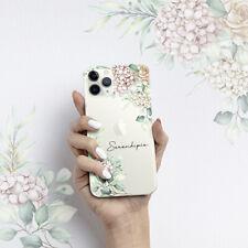 Funda Iphone 7 8 Plus 11 Pro Max SE 2020 Resiliencia Serendipia Dibujo Flores