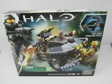 NEW Halo Mega Bloks Dual Mode UNSC Warthog 330 Pcs Includes Upgrade Pack
