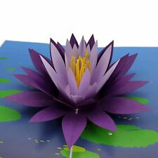 Water Lily 3d pop up card