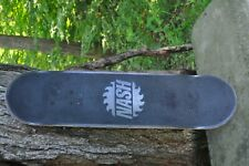 Nash complete skateboard, Popsicle stick style 31in x 8in wood deck, vintage
