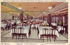 FAMOUS HOTEL ROSSLYN DINING ROOM, 5th and Main Streets LOS ANGELES, CA 1939