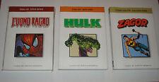 l'uomo ragno hulk zagor-i classici del fumetto marvel-bonelli magazino/edicola