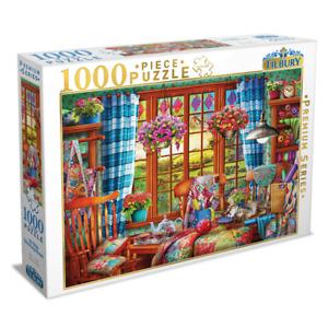 Tilbury Premium Series 1000 Piece Jigsaw Puzzle - Ye Olde Stitching Room