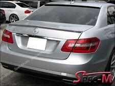 W212 E250 E350 E550 4Dr Painted 775 Iridium Silver E63AMG Look Trunk Spoiler Lip