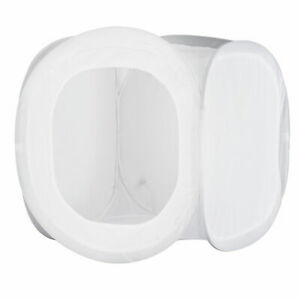 "Photo Studio Cube 30"" Soft Box Photography Light Tent Kit 4 Backdrop Cover Case"
