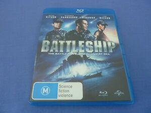 Battleship Blu-Ray Liam Neeson Taylor Kitsch Free Postage