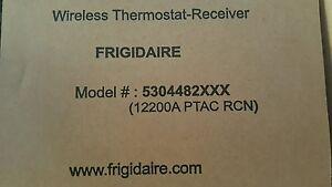 Frigidaire wireless thermostat receiver 5304482xxx