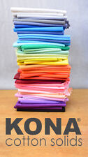 Kona Cotton Solids - Robert Kaufman - 100% Cotton - Fabric - Solid Colours - NEW