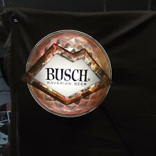 Busch Barvarian Beer Rotating Light Sign