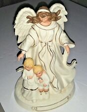 Our Guardian Angel Figurine - San Francisco Music Box