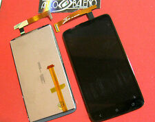 PR1 DISPLAY LCD + TOUCH SCREEN PER HTC ONE X S720E G23 VETRO ASSEMBLATO NERO