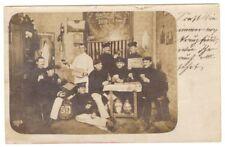 AK Dresden Militäraufnahme, gelaufen 1909, Echtfoto, Fritz Prügel Dresden