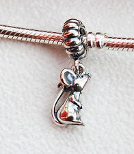 """Genuine Pandora Dangle Charm Chinese Zodiac """"Rat"""" or Mouse - 791104 - retired"""