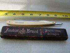 "Vintage straight razor, ""SOLINGEN"", beautiful handle"