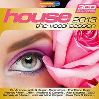 CD House The Vocal Session 2013 por diversos Artistas 3CDs