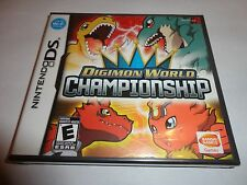 Digimon World Championship  (Nintendo DS, 2008) NEW DSL DSI 3DS