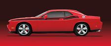12-14 Dodge Challenger New RT R/T Bodyside Stripe White Decal Mopar Factory Oem