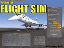 PRO aeromobili simulatore di volo 150 + aeromobili più realistico volo SIM NUOVO PC DVD