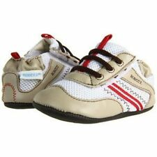 NIB ROBEEZ Mini Shoez Shoes Slammin' Sam Beige 3-6m 2