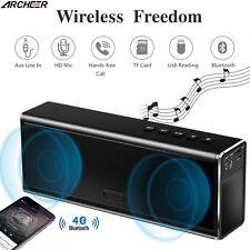 ARCHEER 20W Wireless Stereo Bluetooth 4.0 Speaker Hi-Fi Super Bass Subwoofer Mic